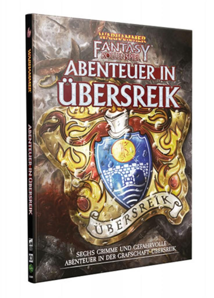 WFRP 4TH: Abenteuer in Übersreik (Anthologie) - DE