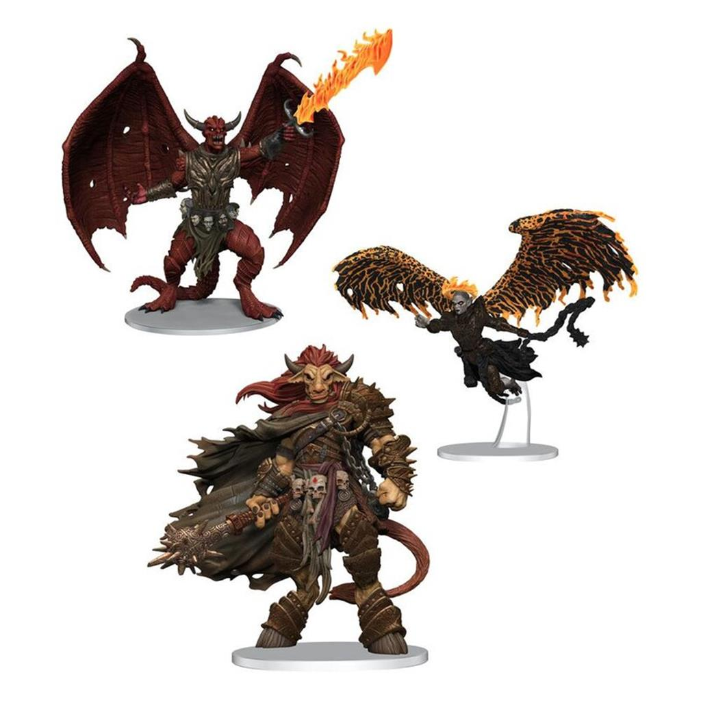 D&D ICONS OF THE REALMS: Archdevils - Bael, Bel, and Zariel