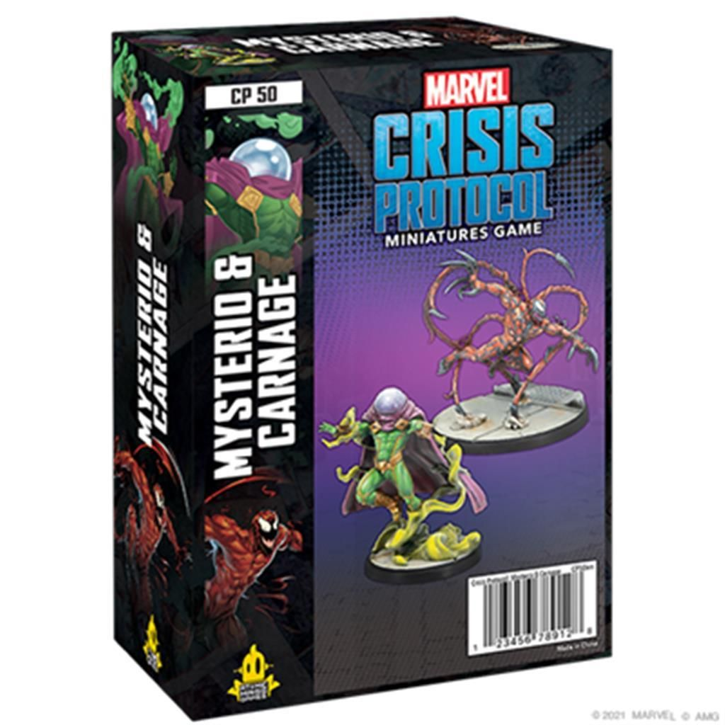 MARVEL CRISIS: Carnage & Mysterio - EN