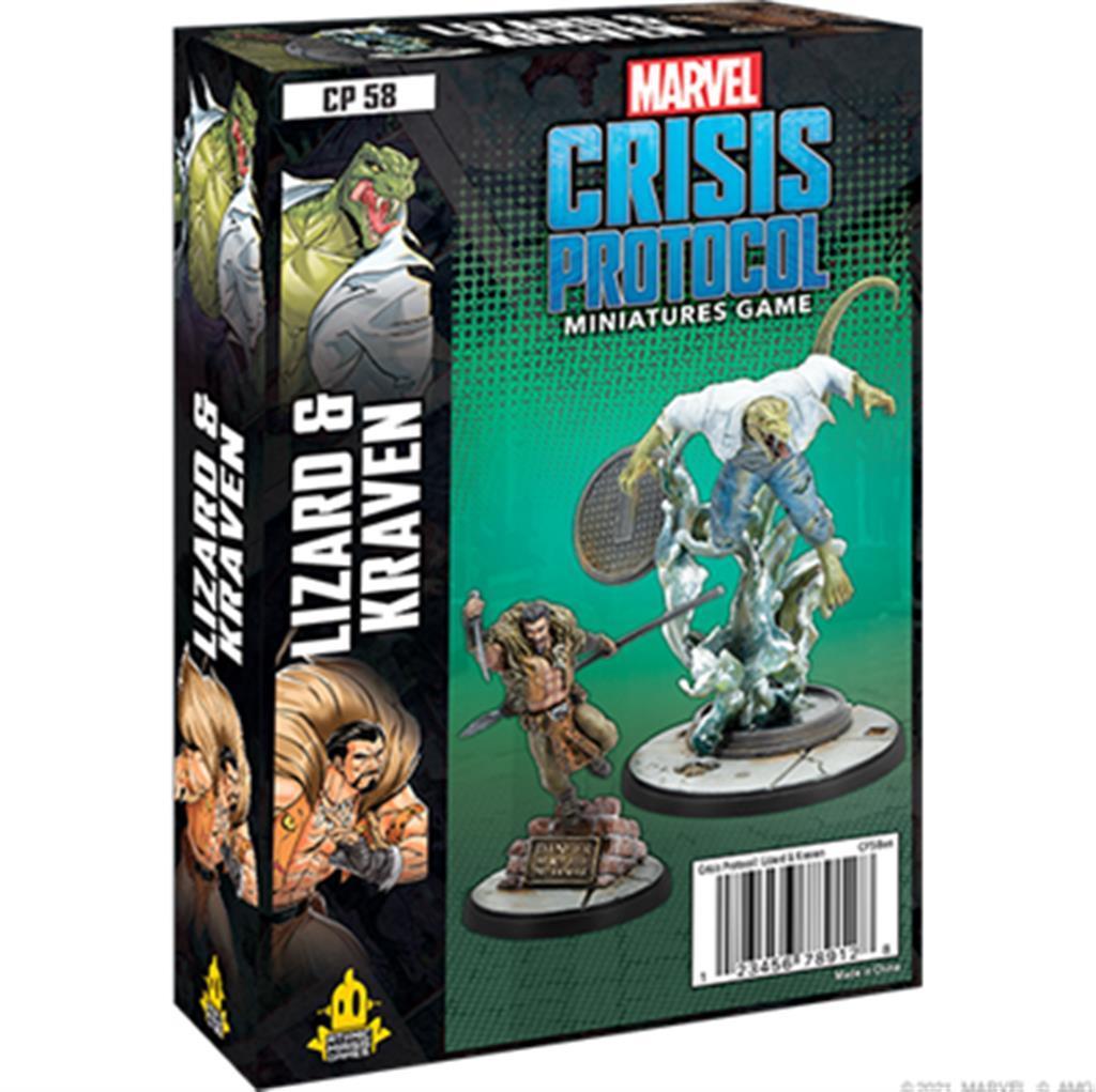 MARVEL CRISIS: Lizard & Kraven - EN