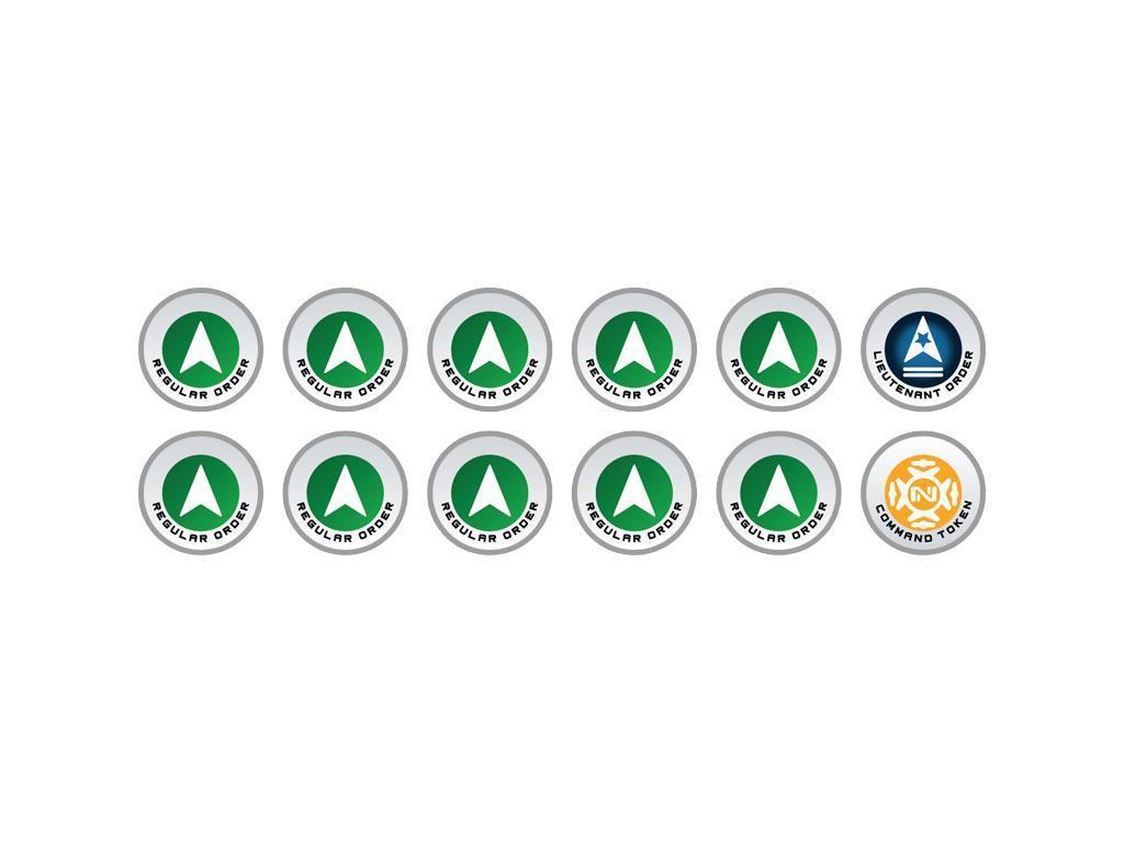 INFINITY: Tokens Regular Orders Green (12)