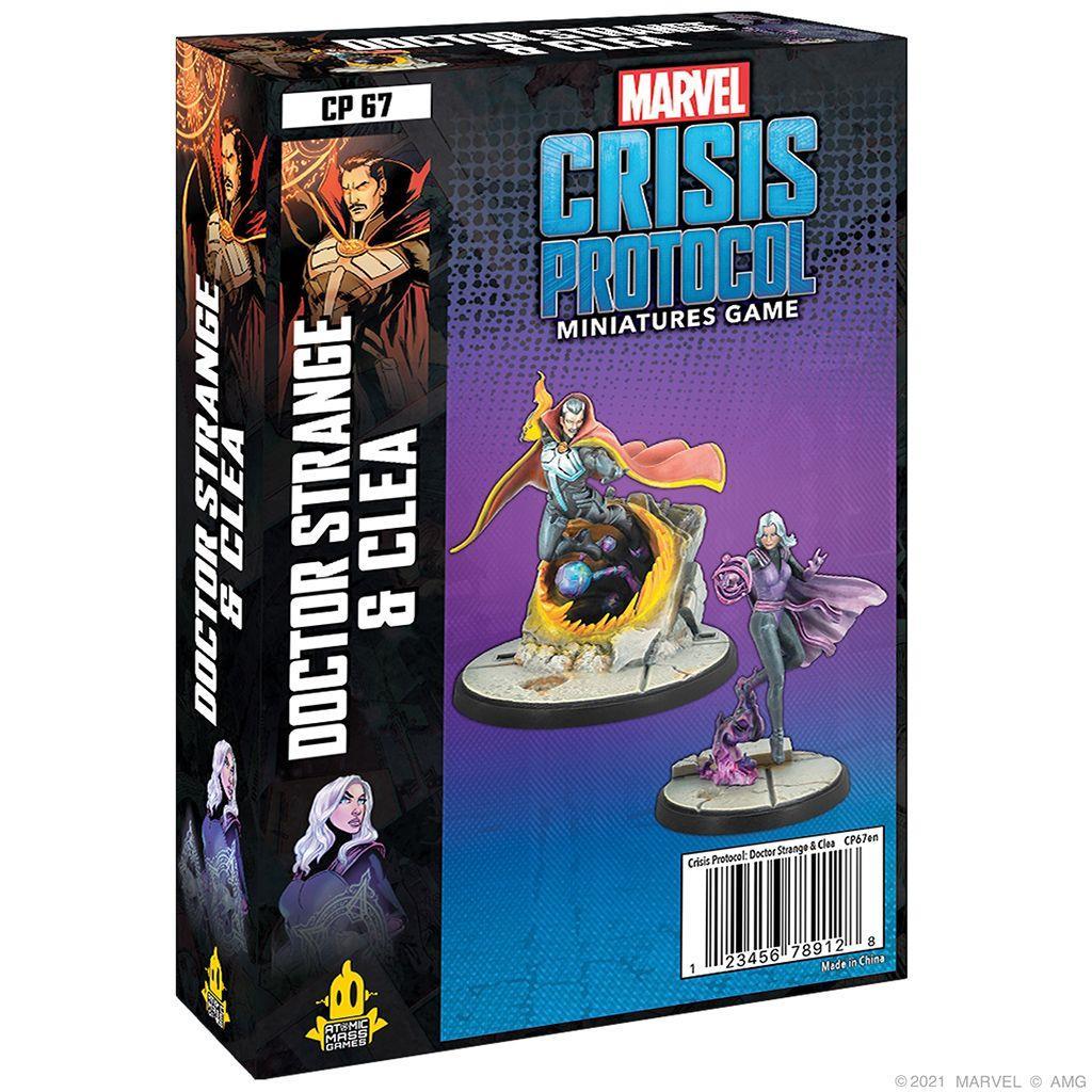 MARVEL CRISIS: Doctor Strange & Clea - EN