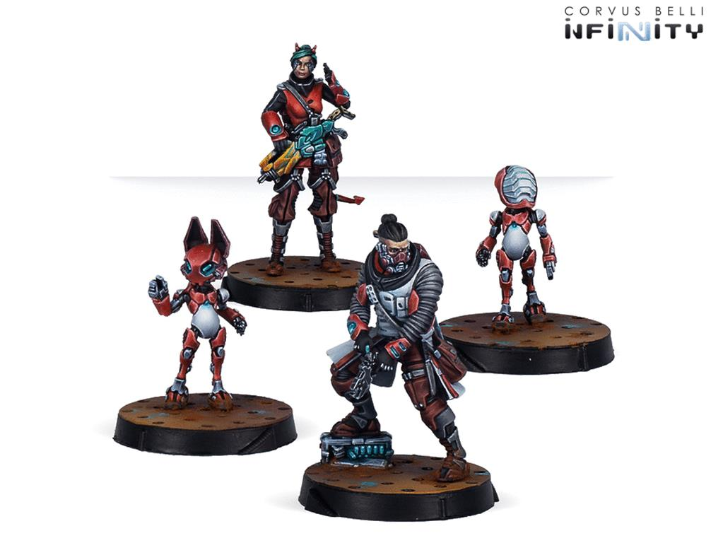 INFINITY: Nomads Support Pack