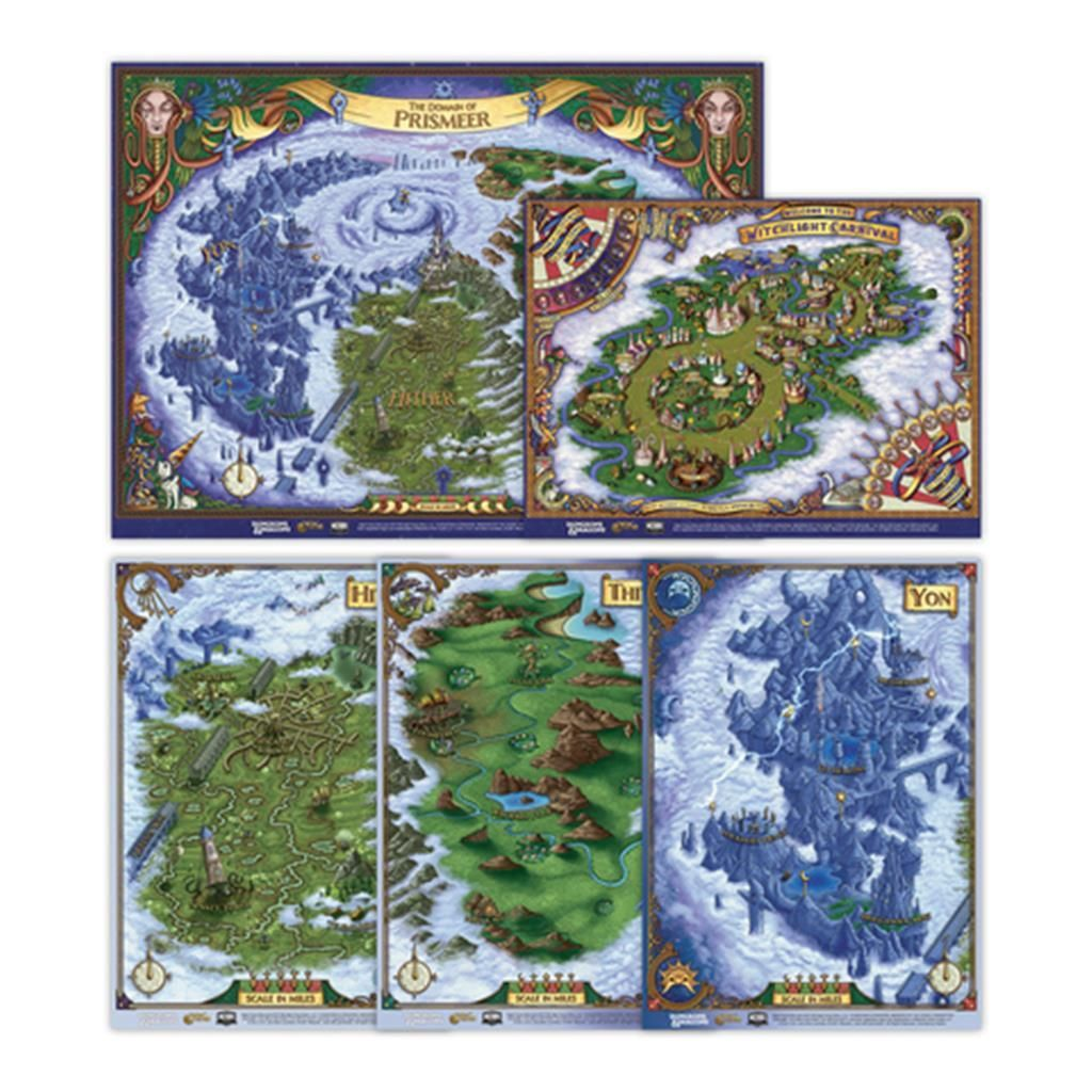 D&D RPG: The Wild Beyond the Witchlight Map Set