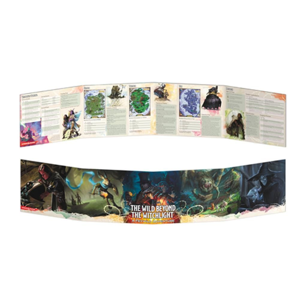 D&D RPG: The Wild Beyond the Witchlight - DM Screen - EN