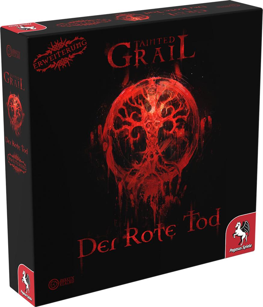 TAINTED GRAIL: Der rote Tod - DE