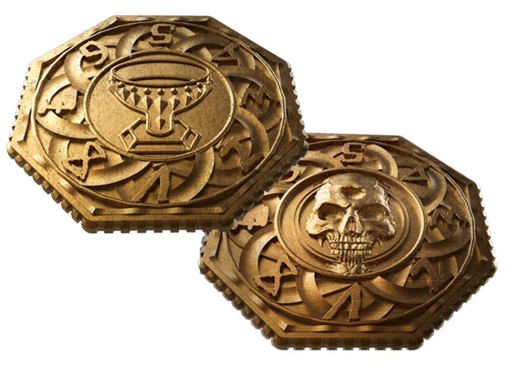 TAINTED GRAIL: Metal Dials/Coins
