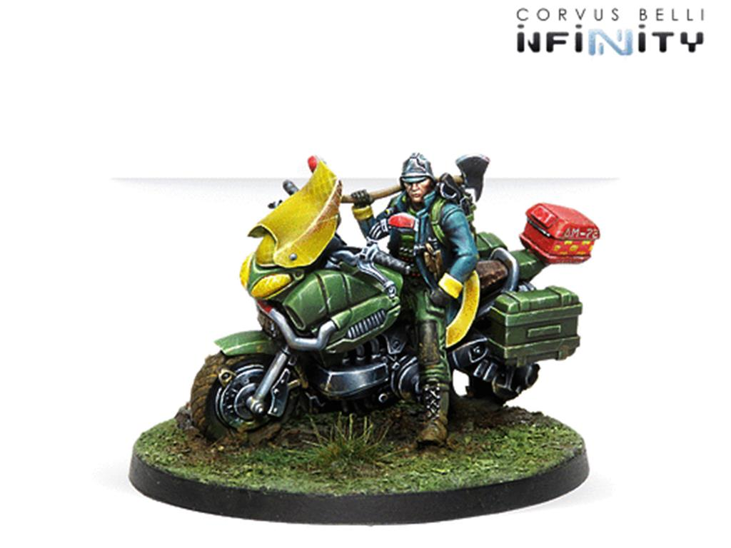 INFINITY: 112, Emergency Service (Motorized, CC Weapon)