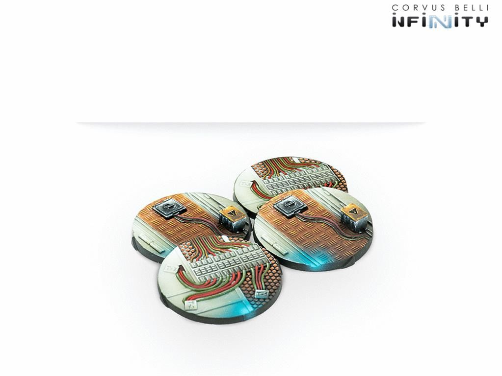 INFINITY: 40 mm Scenery bases, Alpha Series Blister