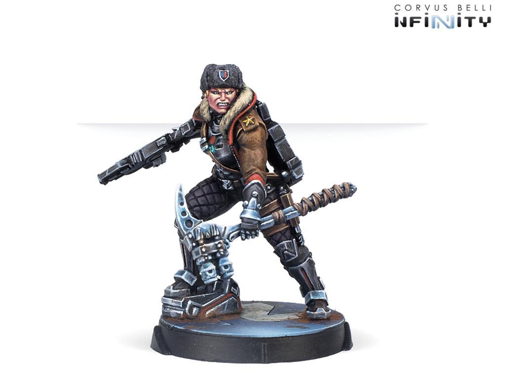 INFINITY: Varangian Guard (Submachine Gun)