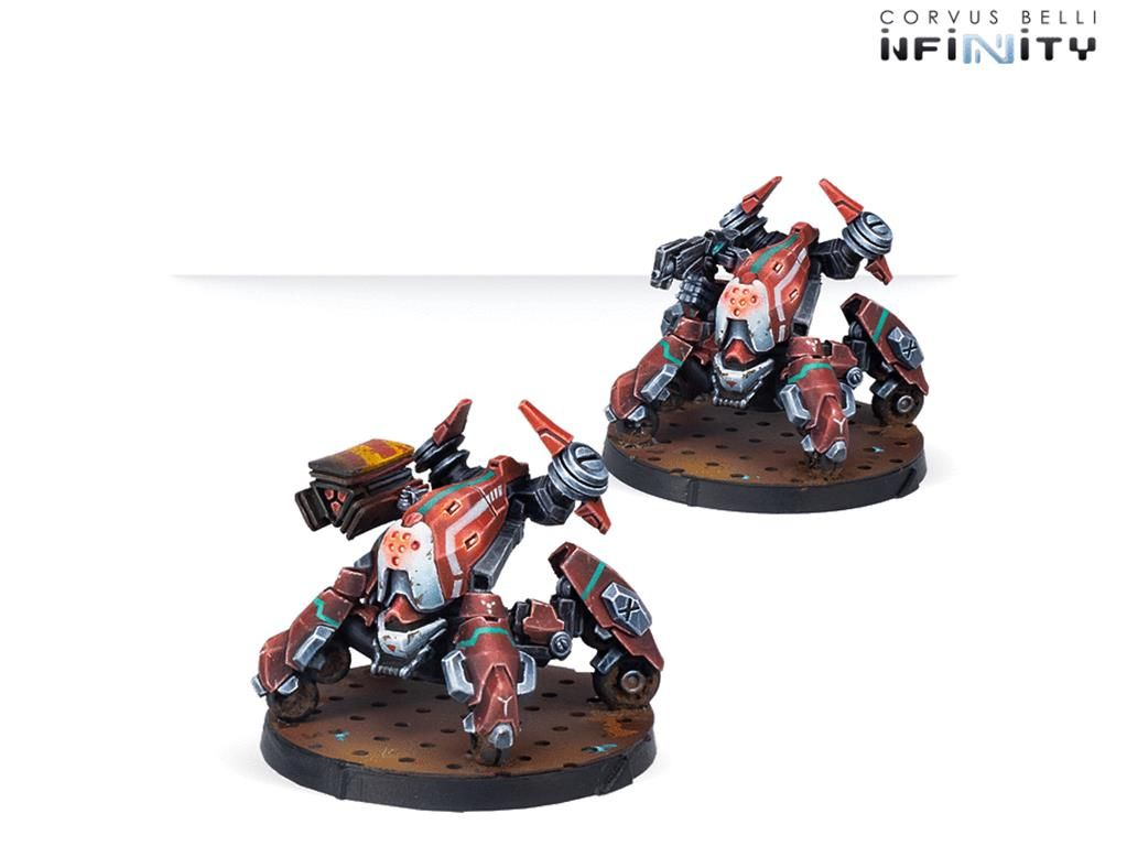 INFINITY: Nomads Remotes Pack