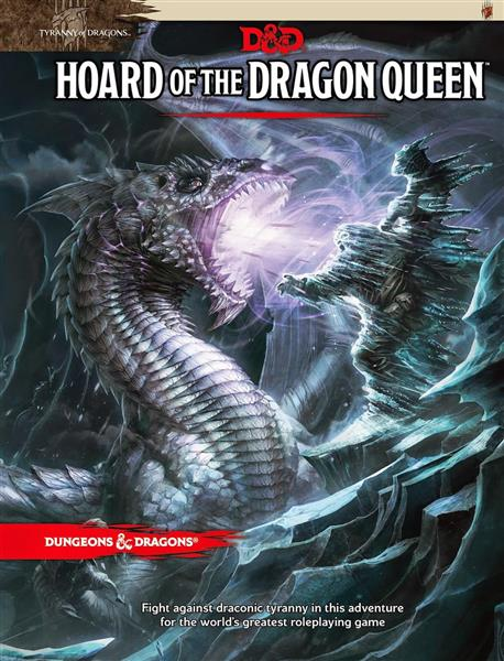 D&D RPG: Tyranny of Dragons: Hoard of the Dragon Queen - EN