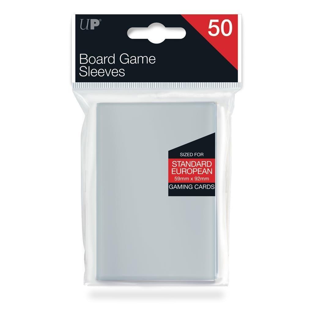 ULTRAPRO: Board Game Sleeves - Euro Standard 59x92mm