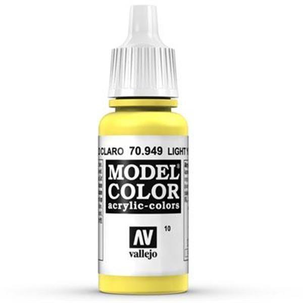 Vallejo Model Color: 010 Schwefelgelb 17ml (70949)