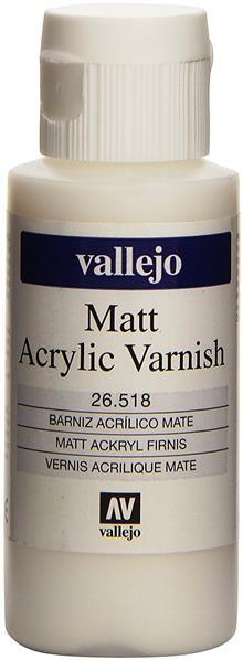 Vallejo Model Color: Matt Varnish 60ml (26518)