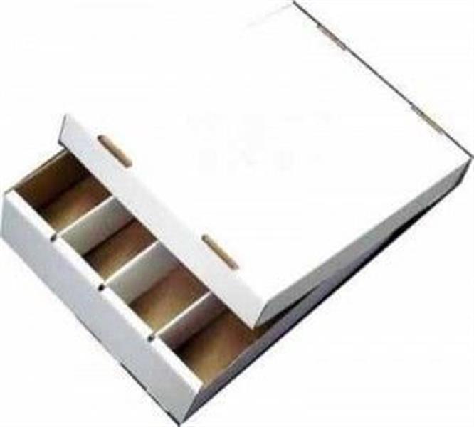 papp faltkarton mit deckel zur aufbewahrung von karten kb4000. Black Bedroom Furniture Sets. Home Design Ideas