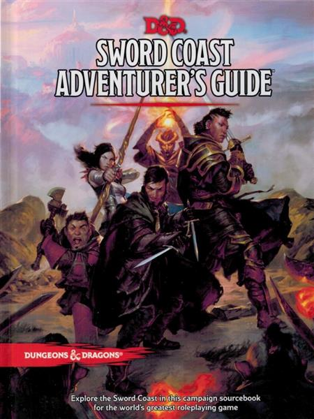 D&D RPG: Sword Coast Adventurers Guide - EN