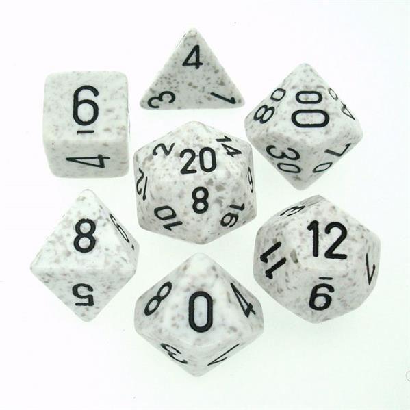 "CHESSEX: Speckled ""Arctic Camo"" 7-Die RPG Set"
