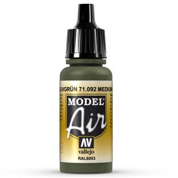 Vallejo Model Air: 092 Medium Olive 17ml (71092)