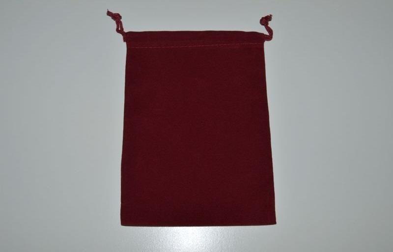 CHESSEX: Large Burgundy Dice Bag