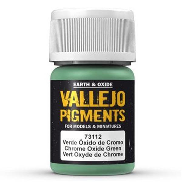 Vallejo Pigment: Chrome Oxide Green 30ml