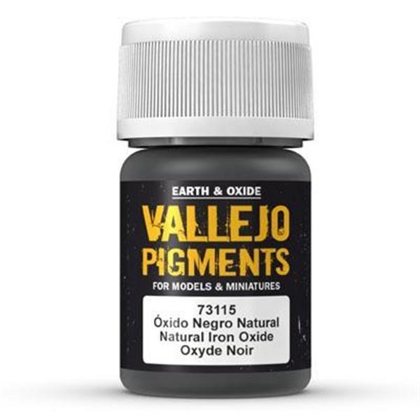 Vallejo Pigment: Natural Iron Oxide 30ml