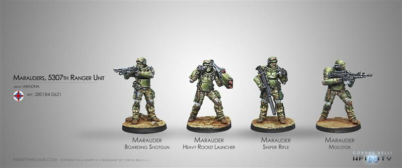 INFINITY: Marauders, 5307th Composite Ranger Unit