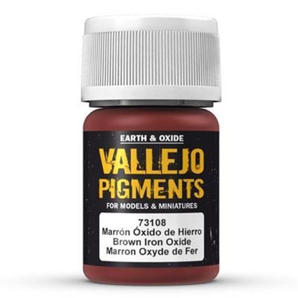 Vallejo Pigment: Brown Iron Oxide 30ml