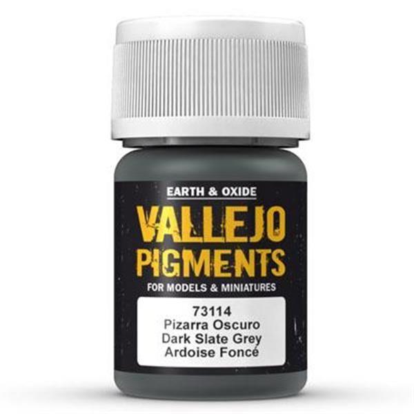 Vallejo Pigment: Dark Slate Grey 30ml