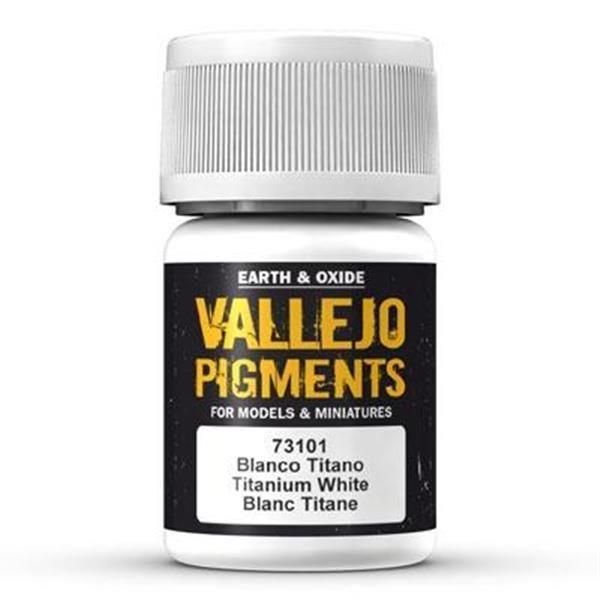 Vallejo Pigment: Titanium White 30ml