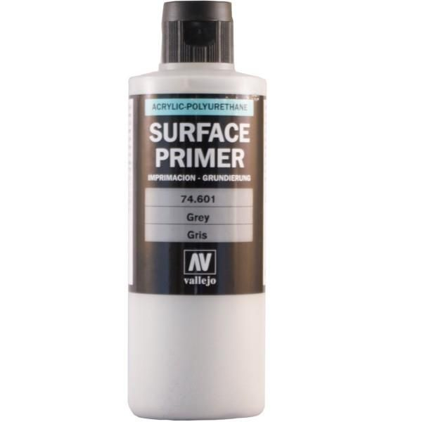 Vallejo Surface Primer: Grey (200ml)