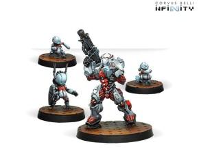 INFINITY: Taskmaster, Bakunin SWAST Team