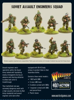 BOLT ACTION: Assault Engineers Squad