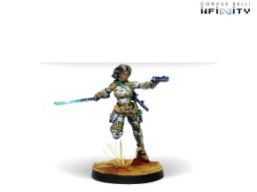 INFINITY: Namurr Active Response Unit (Heavy Pistol, E/M CC)