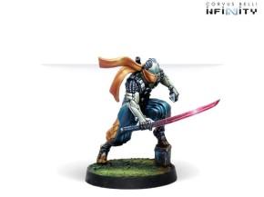 INFINITY: Saito Togan, Mercenary Ninja (Combi Rifle)