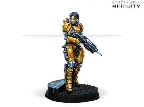 INFINITY: Tai Sheng, Zuyong Invincibles NCO (Breaker Rifle)