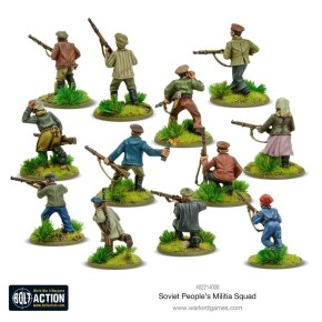 BOLT ACTION: Soviet Peoples Militia Squad