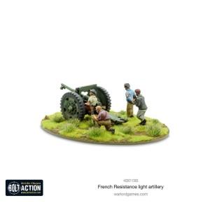 BOLT ACTION: French Resistance Light Artillery