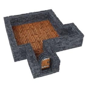 WARLOCK TILES: Dungeon Straight Walls