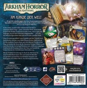 ARKHAM HORROR LCG: Am Rande der Welt - Ermittler - DE