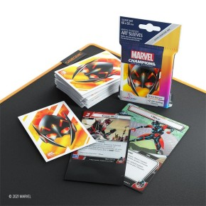 GAMEGENIC: Marvel Champions Sleeves: Wasp
