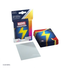 GAMEGENIC: Marvel Champions Sleeves: Ms. Marvel