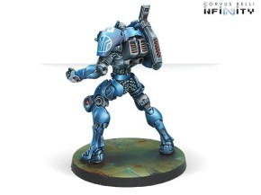 INFINITY: Squalo. Armored Heavy Lancers of the Armored Cava.