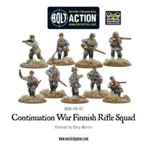 BOLT ACTION: Finnish Infantry boxed set (9 man)